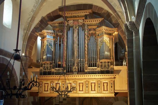 Inauguration de l'orgue Mahler - Eglise protestante de Dorlisheim